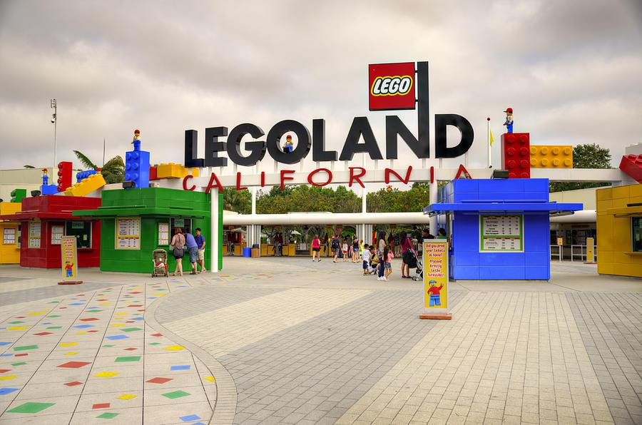 Legoland Photograph - Legoland California by Ricky Barnard