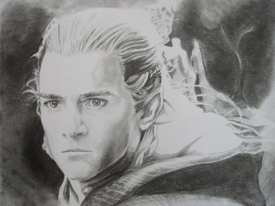 Download image Drawing Legolas Greenleaf PC, Android, iPhone and iPad