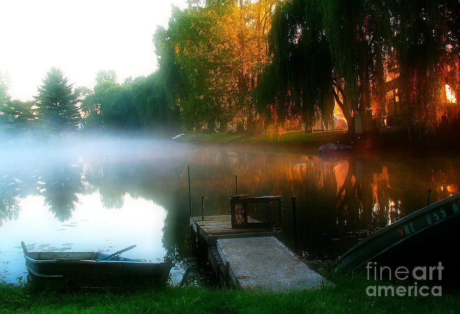 Water Photograph - Leidy Lake Campground by Douglas Stucky