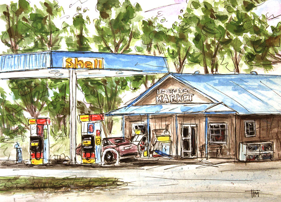 Leipers Fork Market Painting