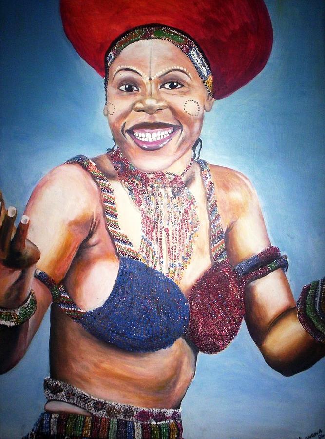 Leleti Khumalo Painting