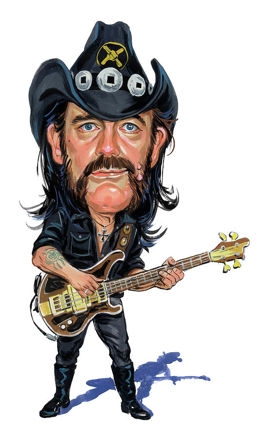 Lemmy Kilmister Painting By Art