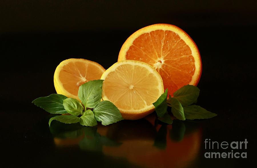 Lemon And Orange Delight Photograph