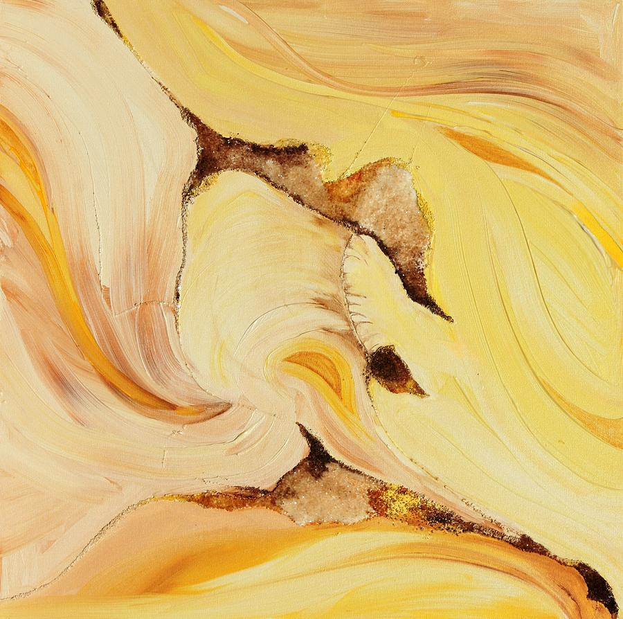 Lemon Ice Painting