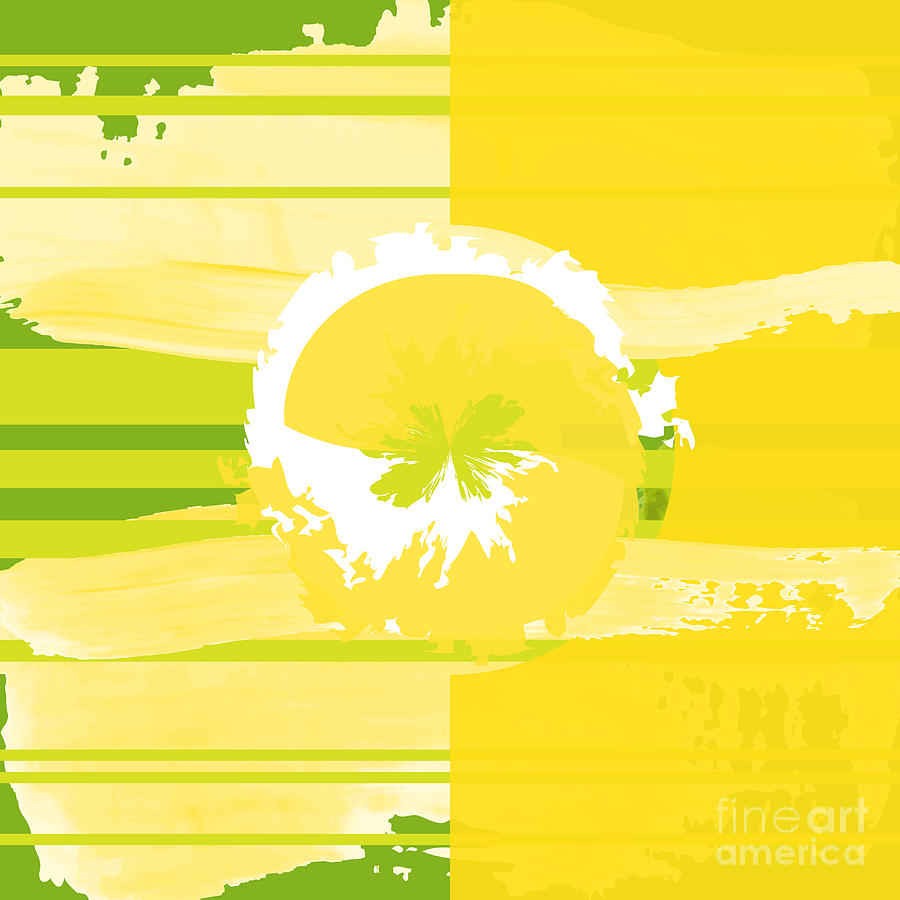 Lemon Lime Digital Art  - Lemon Lime Fine Art Print