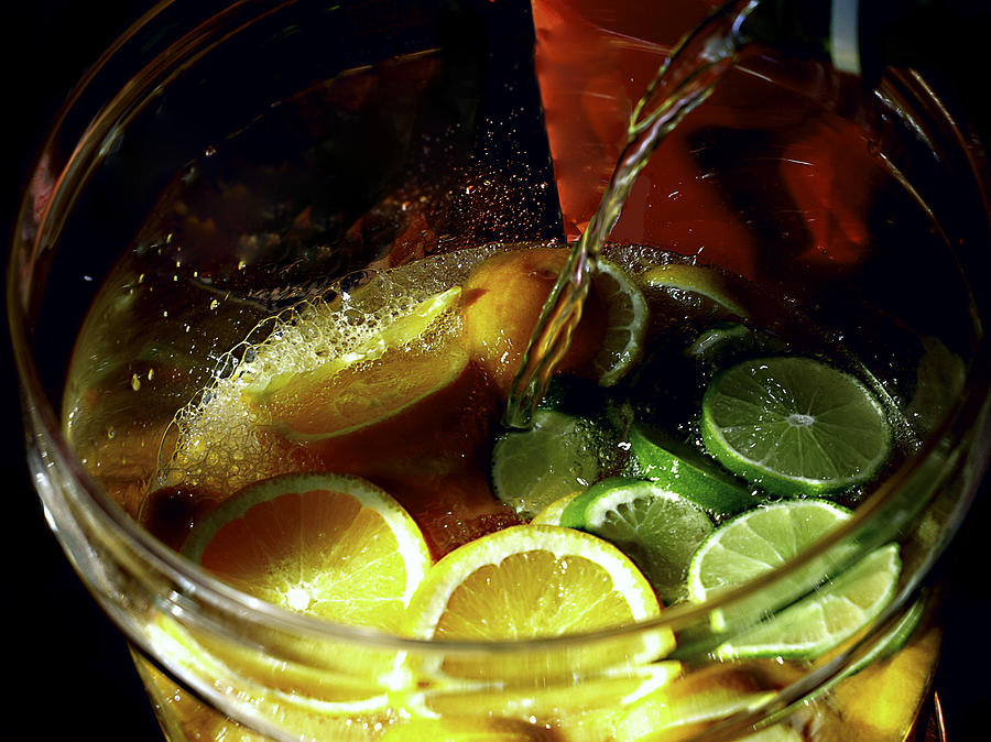 Lemon Photograph - Lemon Limeade by Camille Lopez