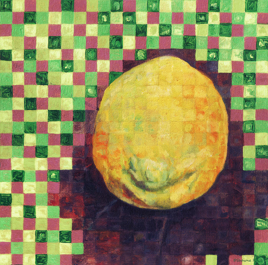 Lemon Squares Painting