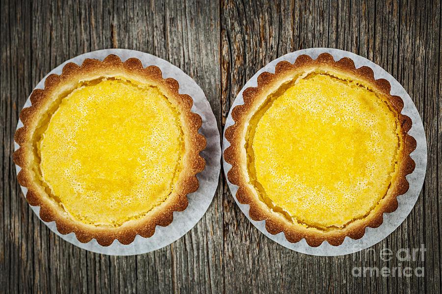 Lemon Tarts Photograph
