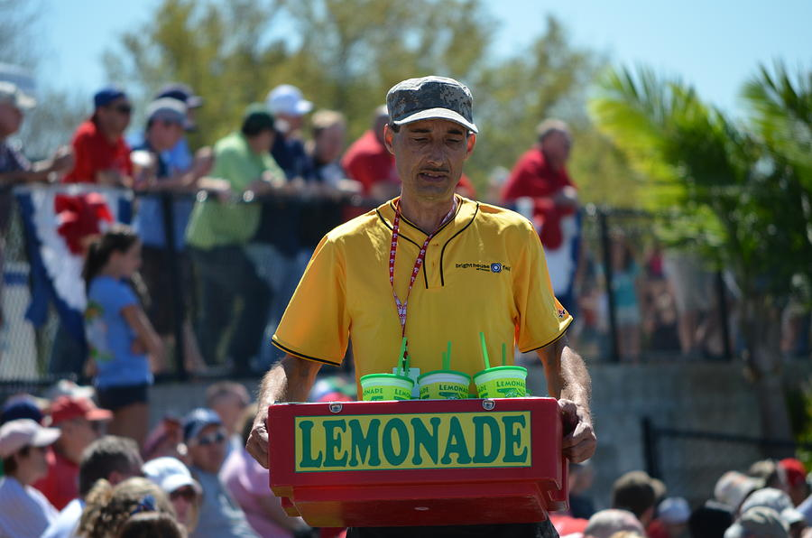 Lemonade Vendor Photograph  - Lemonade Vendor Fine Art Print
