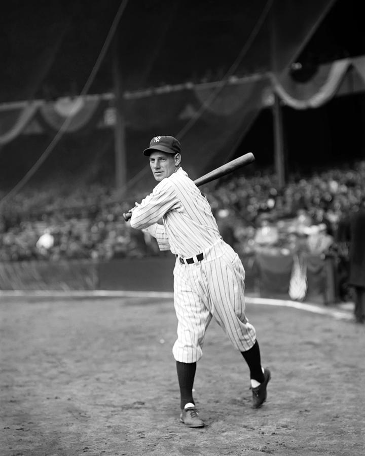 Leo Durocher Swinging Photograph