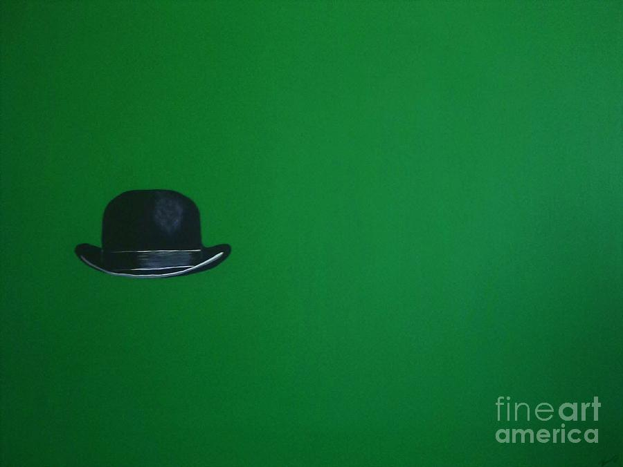 Leprechaun Green Painting
