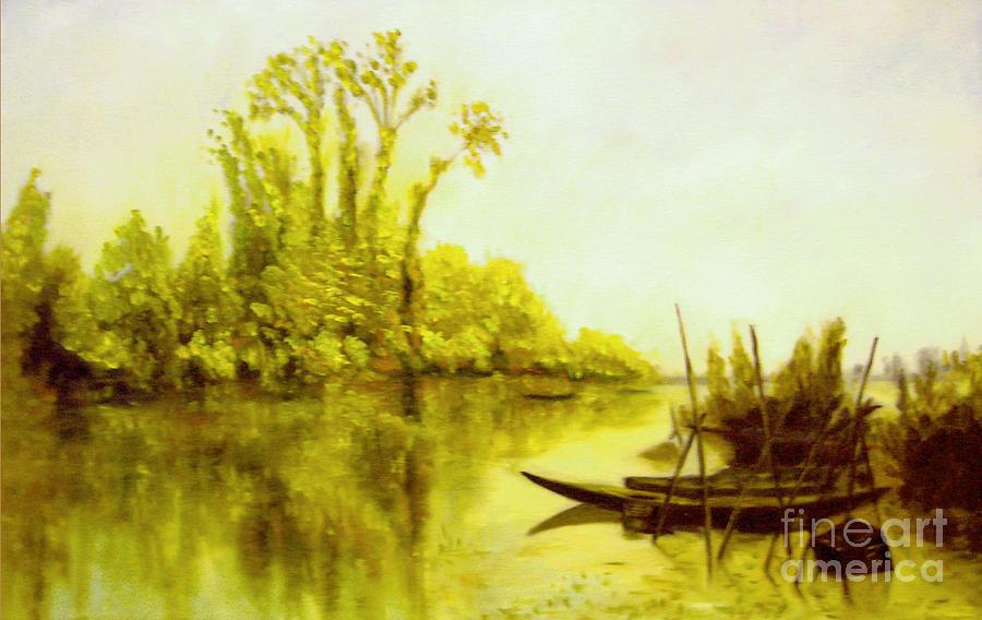 Les Iles Vierges A Bezons Reproduction Painting