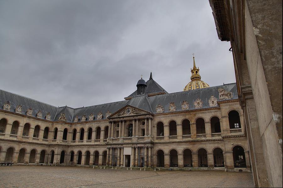 Les Invalides - Paris France - 01139 Photograph
