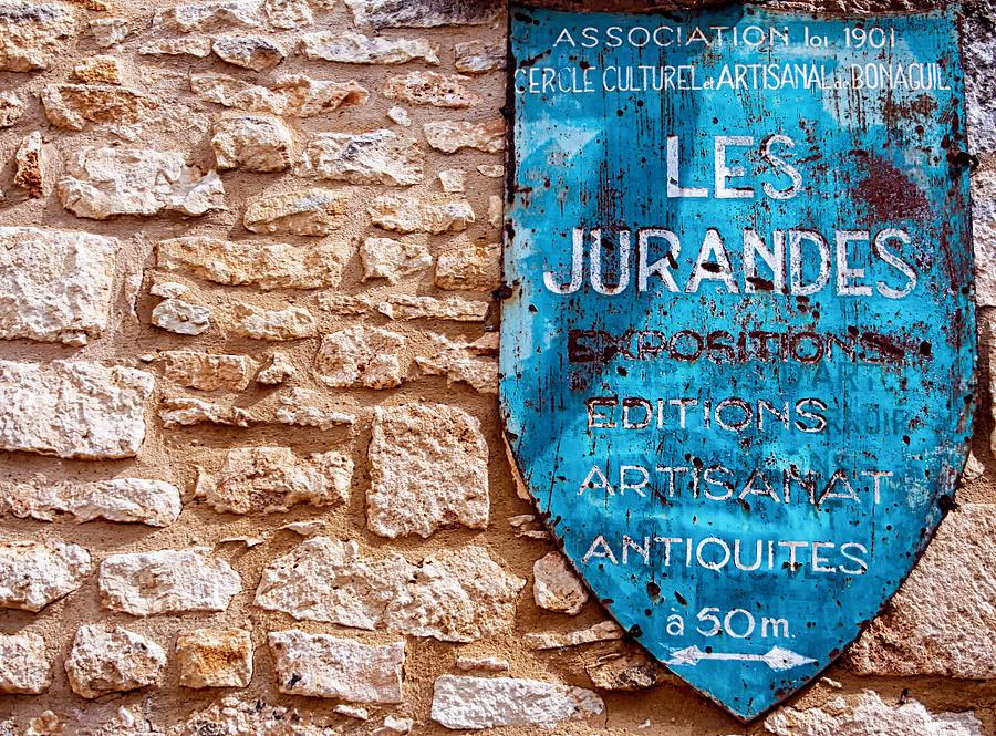 French Photograph - Les Jurandes Bonaguil by Georgia Fowler