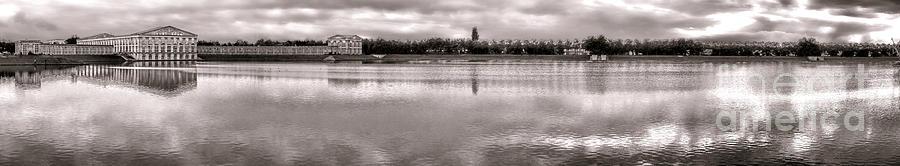 Les Templettes Et Le Bassin De La Sourderie Photograph