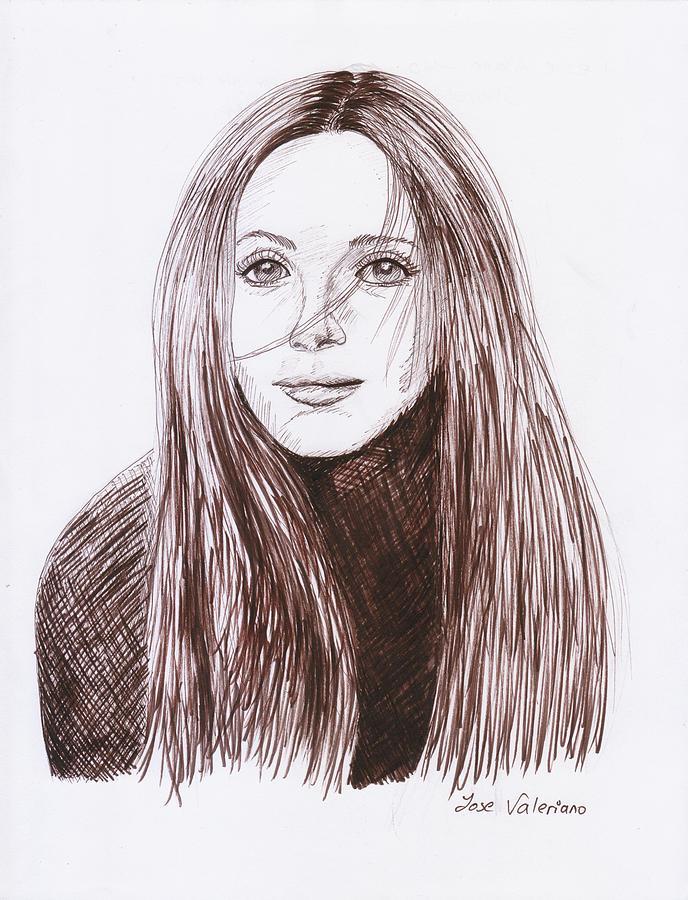 Leslie Mann Drawing