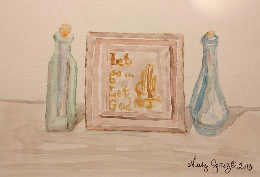 Let Go Let God Painting  - Let Go Let God Fine Art Print