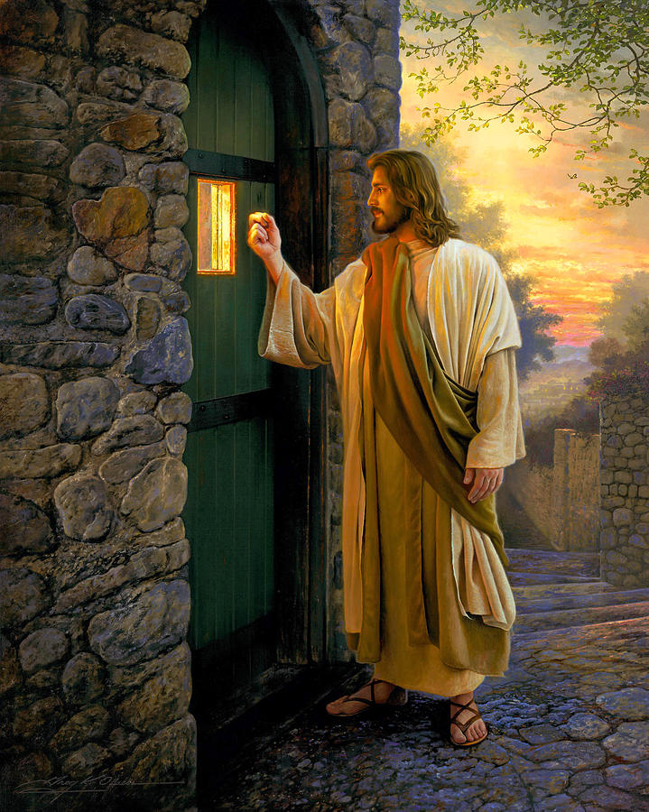 Let Him In Painting