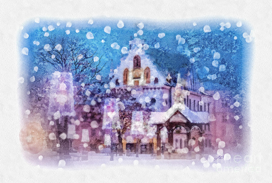 Let It Snow Painting  - Let It Snow Fine Art Print