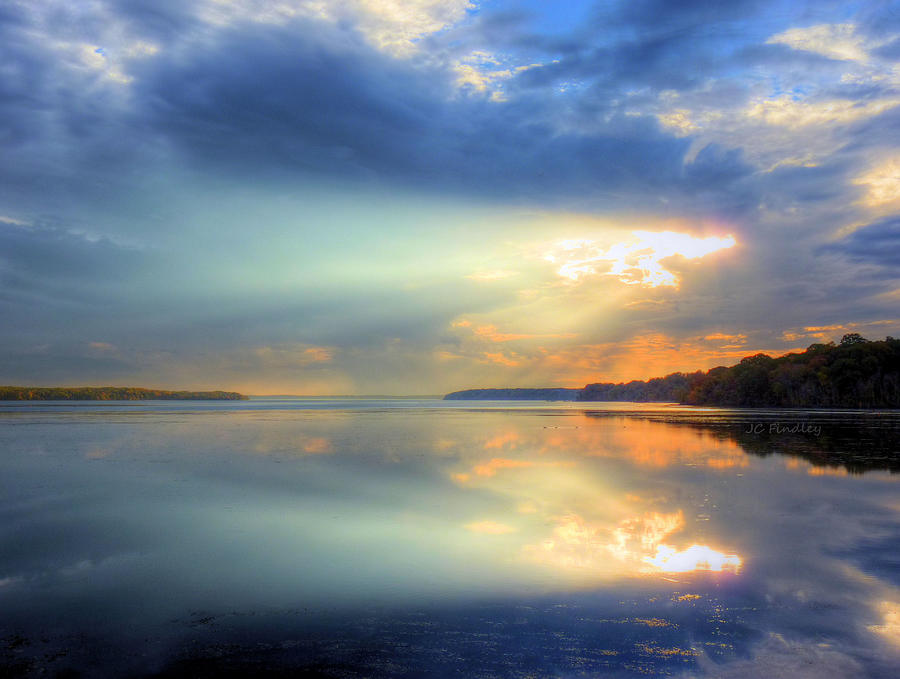 Sun Rays Photograph - Let There Be Light by JC Findley