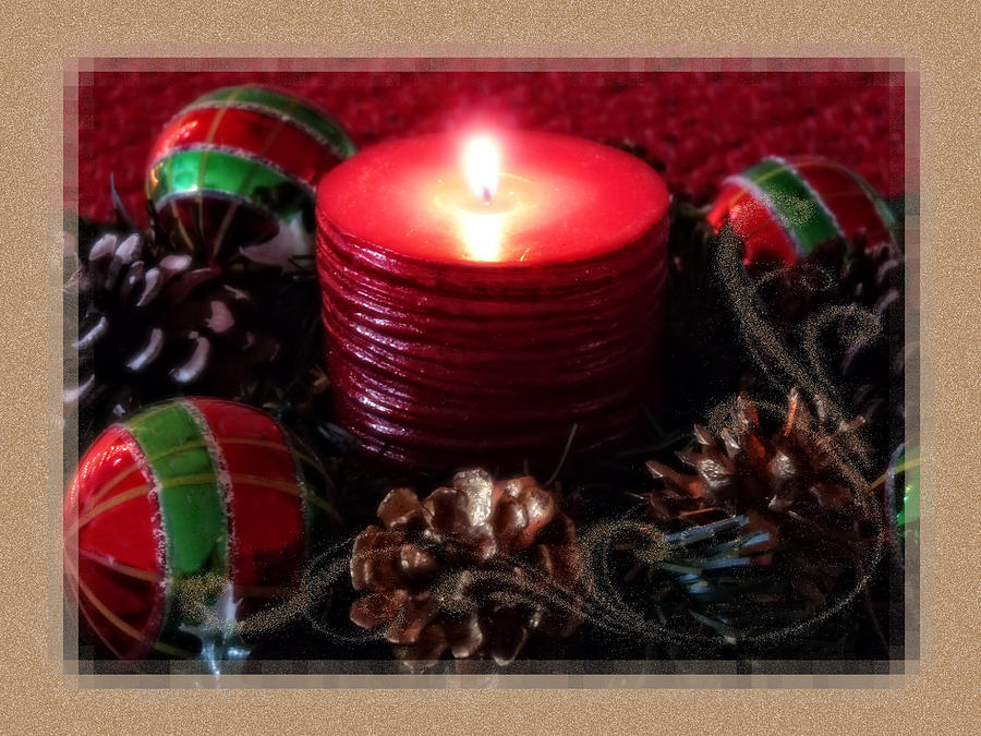 Holiday Photograph - Let Your Light Shine by Lucinda Walter