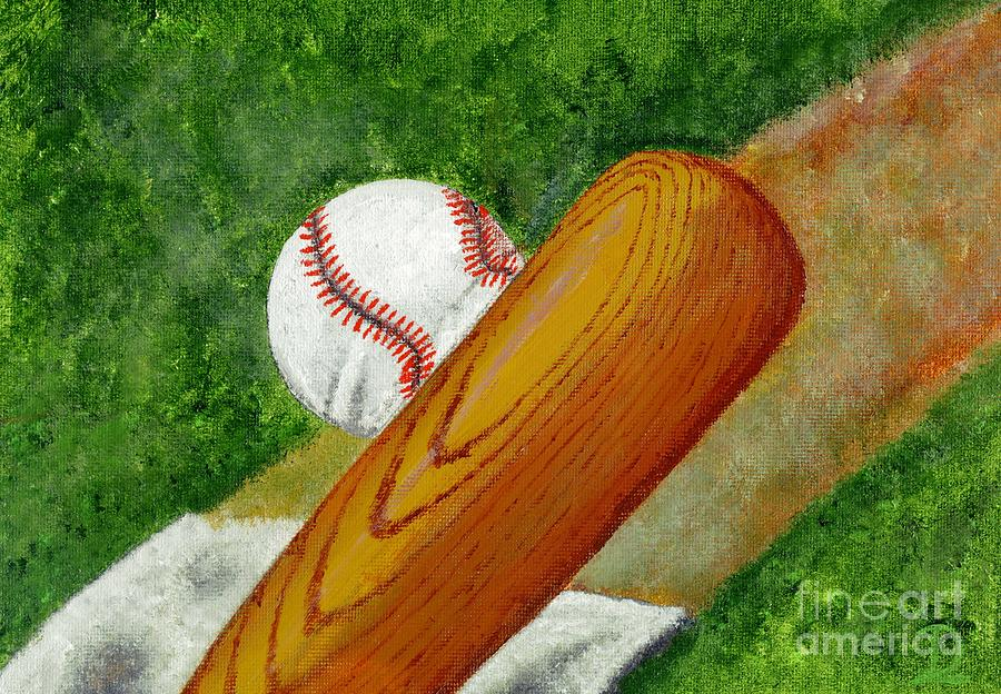 Lets Play Ball Painting