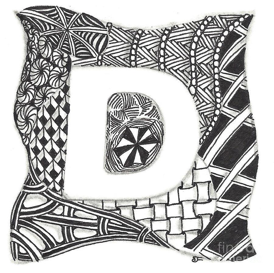 Zentangle Inspired Art Work