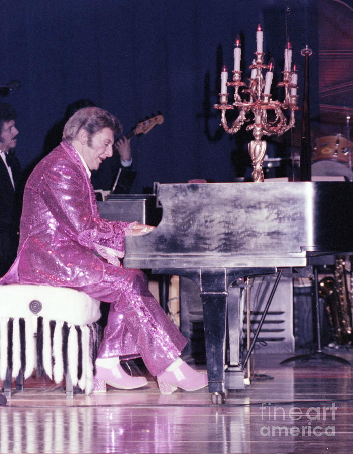 Liberace Piano Candelabra 1970 - We Will Be Seeing You Lee Liberace Photograph  - Liberace Piano Candelabra 1970 - We Will Be Seeing You Lee Liberace Fine Art Print