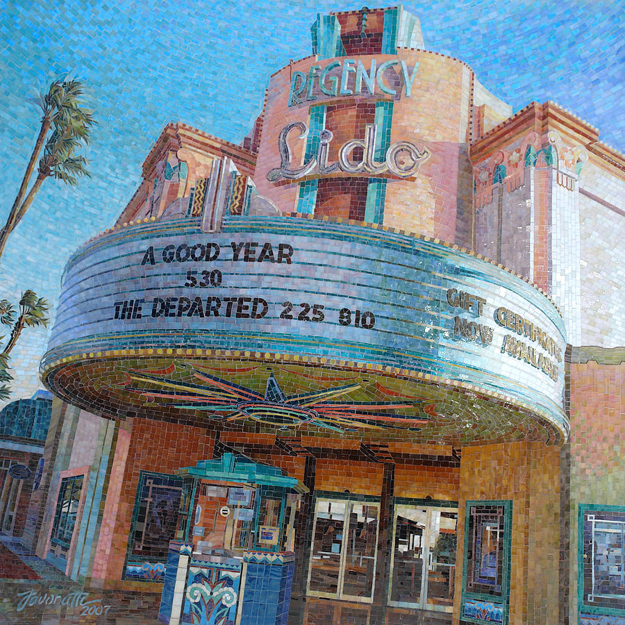 Lido Theater Painting