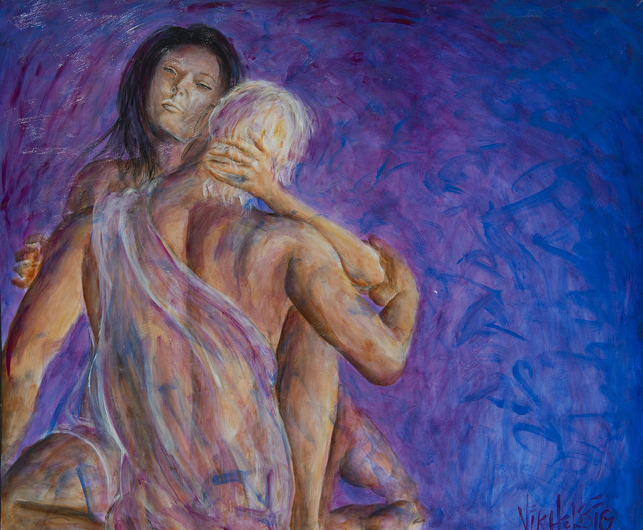 Love Dream Painting - Liebestraume by Nik Helbig