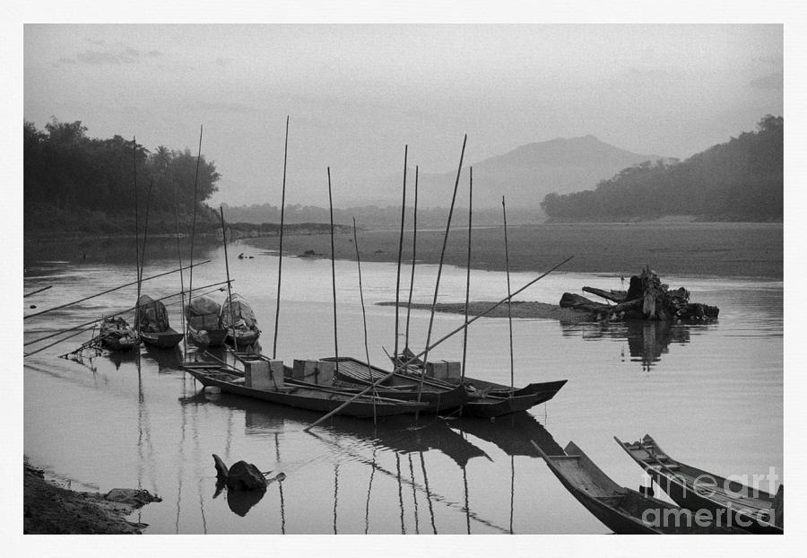 life at Mae Khong river Photograph