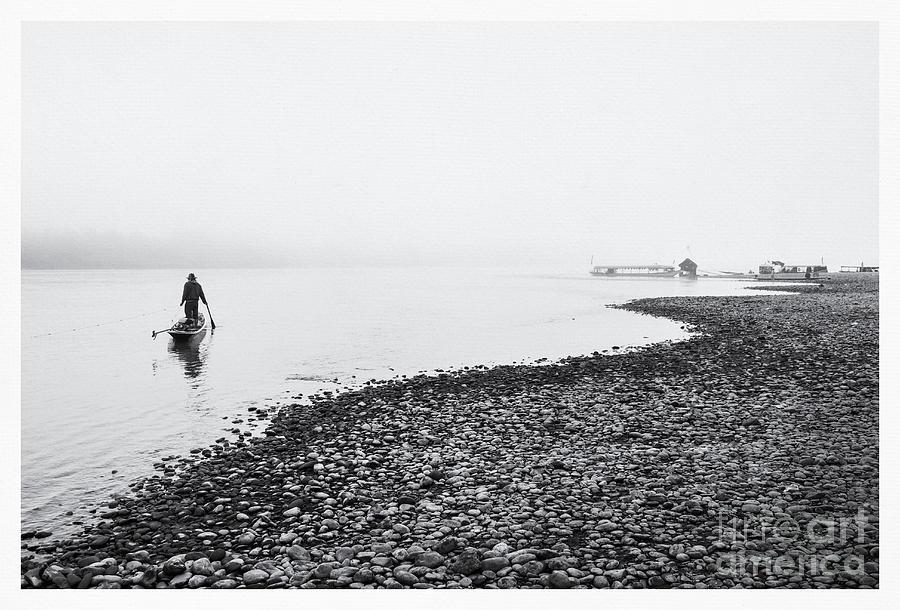 Life At Mekong River Photograph
