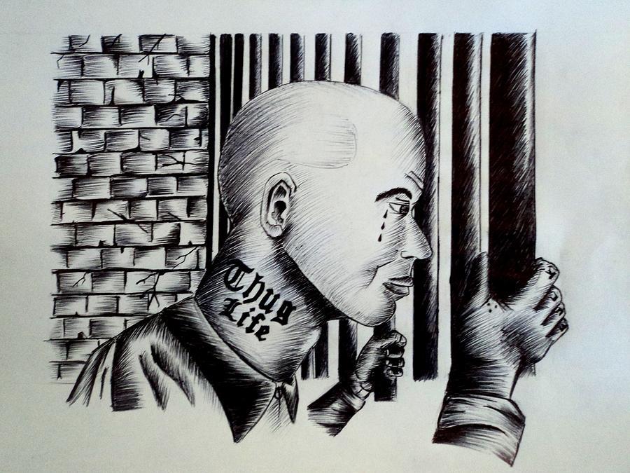 Sad Girl Clown Drawings Gangster girl cl655 x 799
