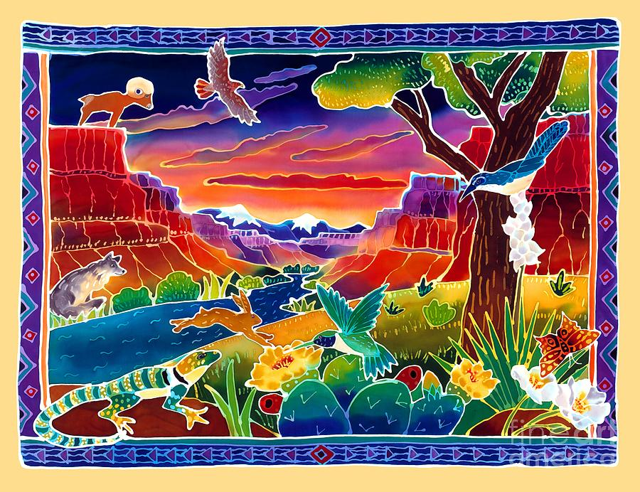 Life Of The Desert Painting by Harriet Peck Taylor