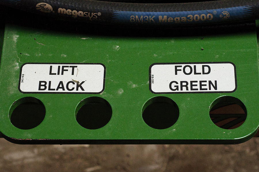 Lift Black Fold Green Photograph
