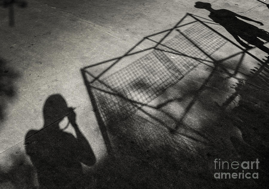 Light And Shadow Photograph  - Light And Shadow Fine Art Print