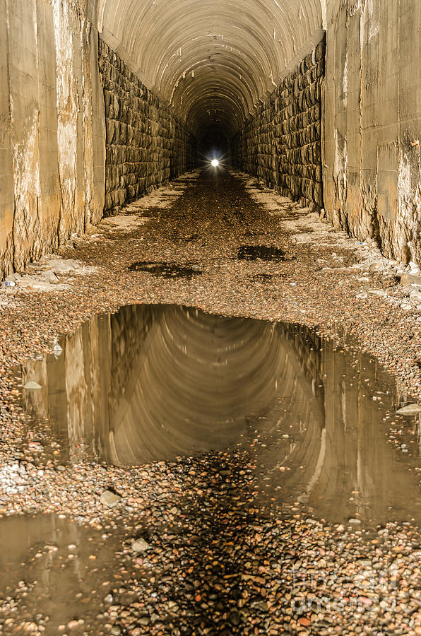 Light At The End Of The Tunnel Photograph