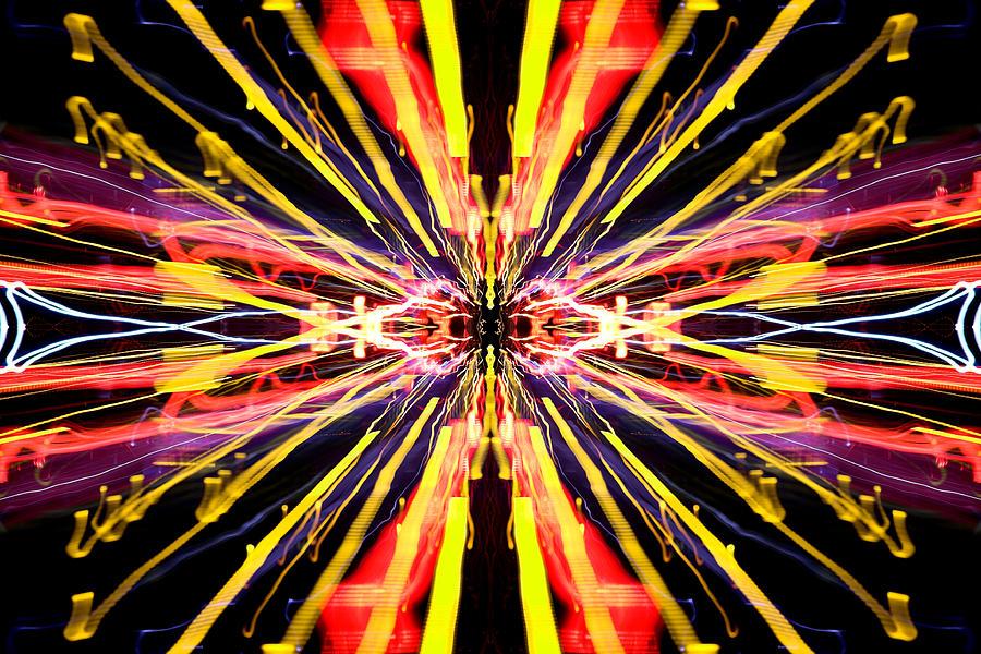 Abstract Photograph - Light Fantastic 22 by Natalie Kinnear