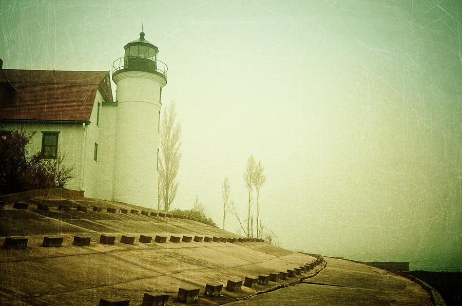 Light In The Fog Photograph