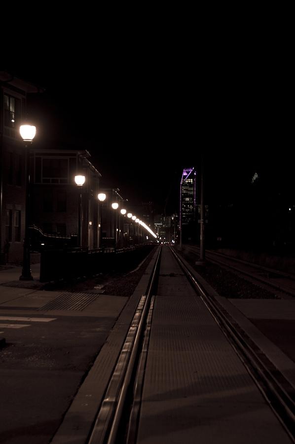 Light Rail Photograph