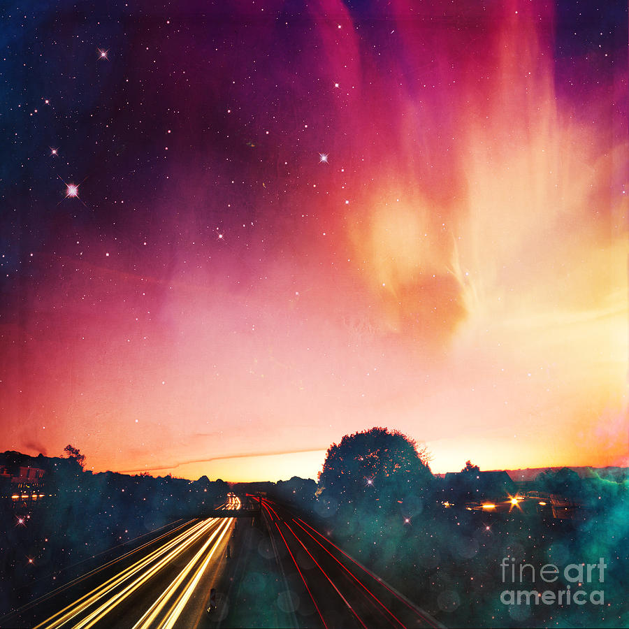 Light Speed Photograph  - Light Speed Fine Art Print