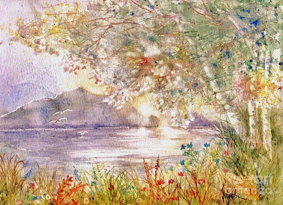 Light Through The Pass Painting