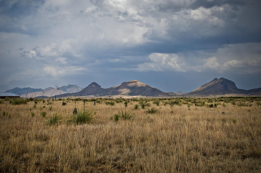 Desert Photograph - Light Upon The Hill by Swift Family