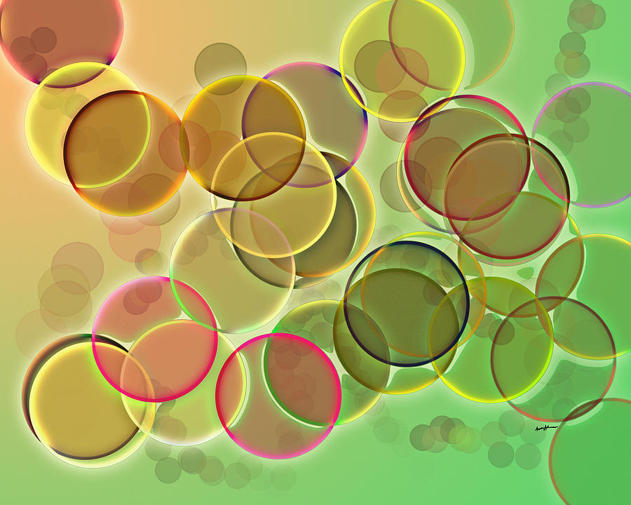 Abstract Digital Art - Lightbright by Anthony Caruso