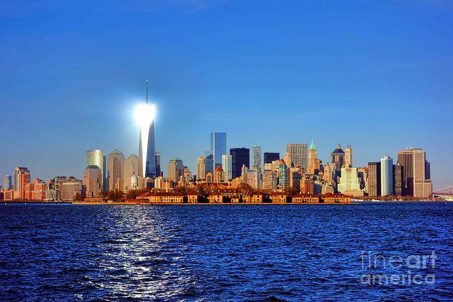 Lighthouse Manhattan Photograph