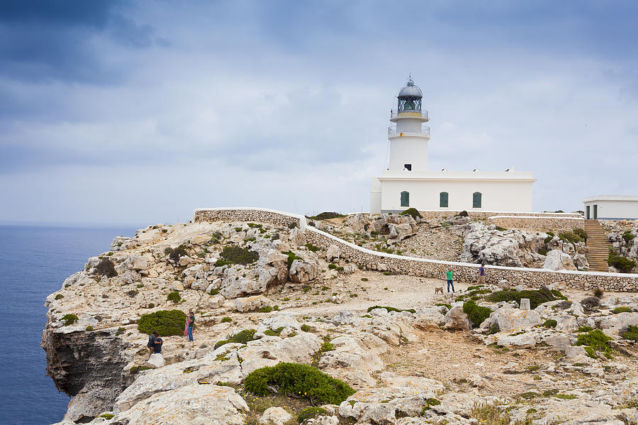 Lighthouse Of Caballeria Photograph