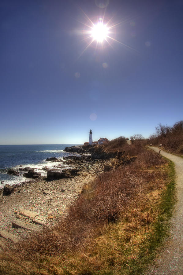 Lighthouse Path Photograph