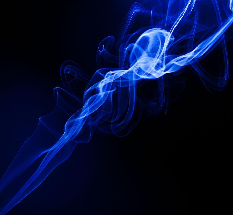Lighting In Swirls Photograph