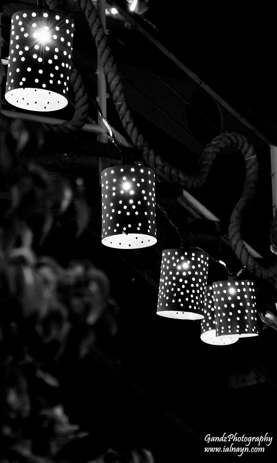 Lights Digital Art  - Lights Fine Art Print
