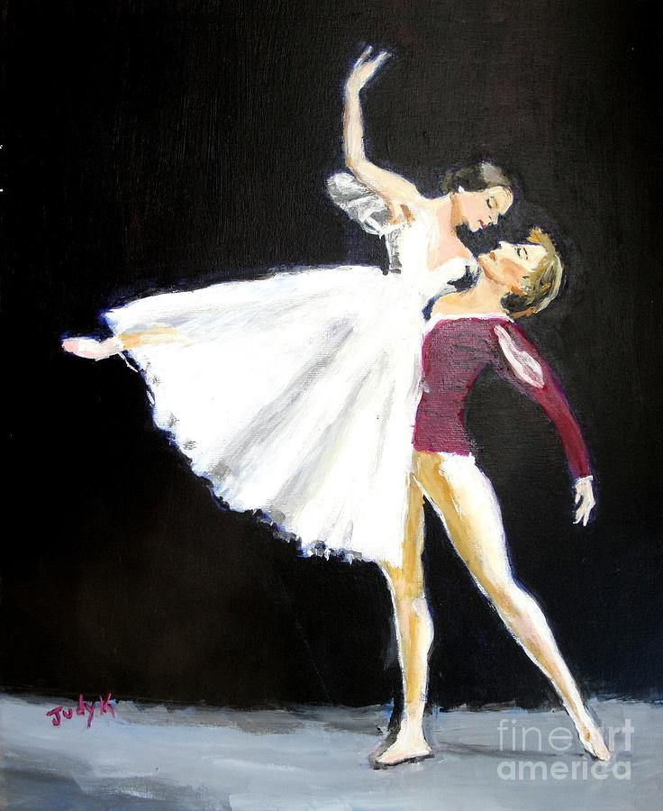 Dance Painting - Ligne by Judy Kay